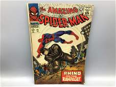 Amazing Spiderman 43  1st full appearance of Mary