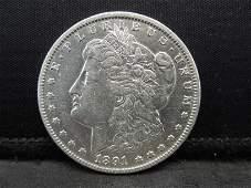 1891 CC Morgan Dollar Strong Details Better Date