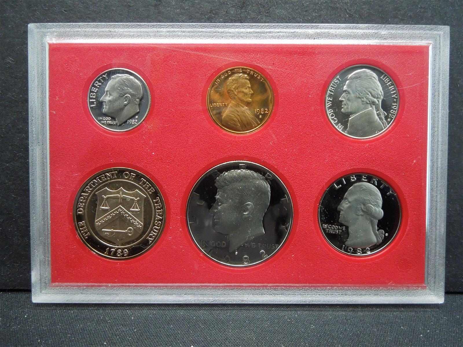 1984 S US Mint Proof Set