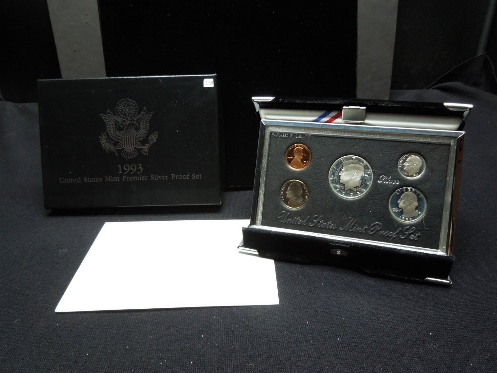 1993 United States Mint Premier Silver 5-Coin Proof Set