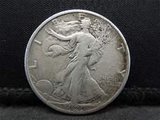 1929-D Walking Liberty Half Dollar.