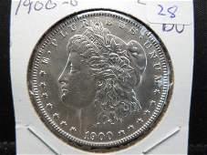 1900 O Morgan Dollar. Choice BU.