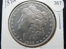 1892 O Morgan Dollar