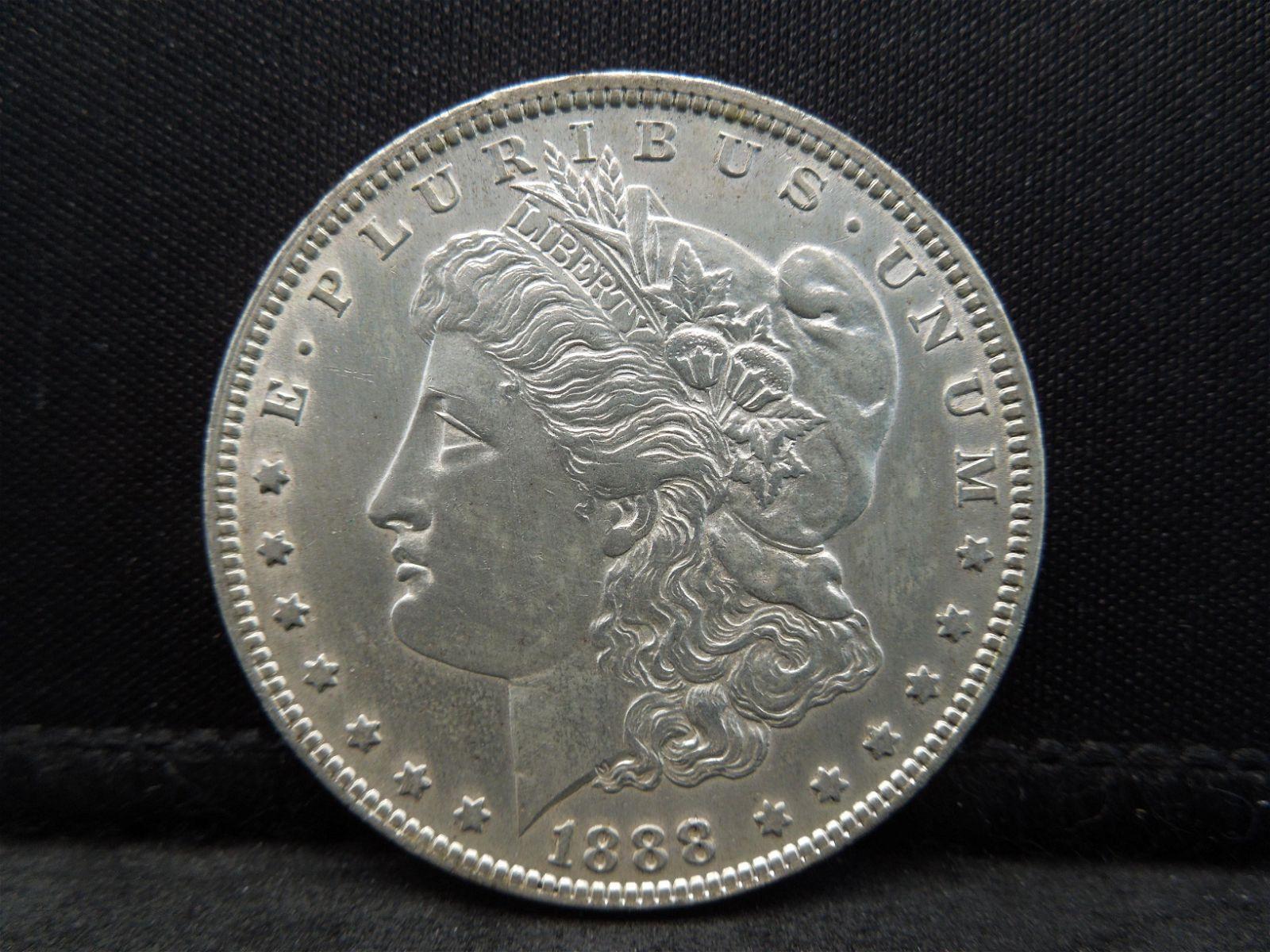 1888 O Morgan Dollar