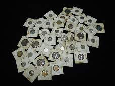 39 Old Foreign Coins