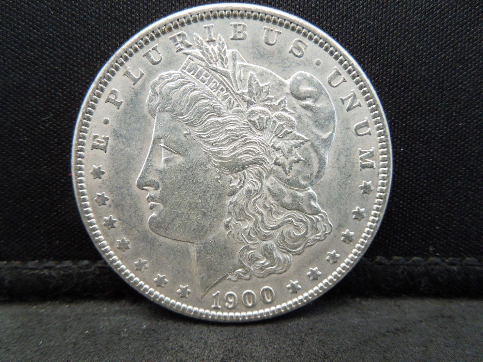1900 Morgan Dollar Strong Details Better Date