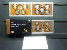 2011 United States 14-Coin Proof Set, With Original