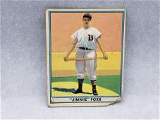 1941 Play Ball Jimmie Foxx #13 The National Leagues
