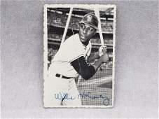 1969 Topps Deckle Edge Willie McCovey 31 HOF