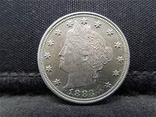 1883 With Cents Gem Proof Liberty Nickel