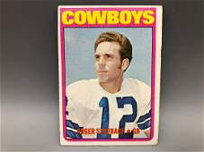 1972 Topps Roger Staubach #200 Rookie Card