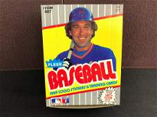 1989 Fleer Baseball Unopened Wax Box  Ken Griffey Jr