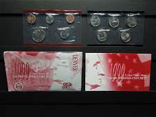 1999 Denver Mint Uncirculated Set in Original Envelope