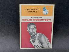 1961 Fleer Oscar Robertson #36 Rookie