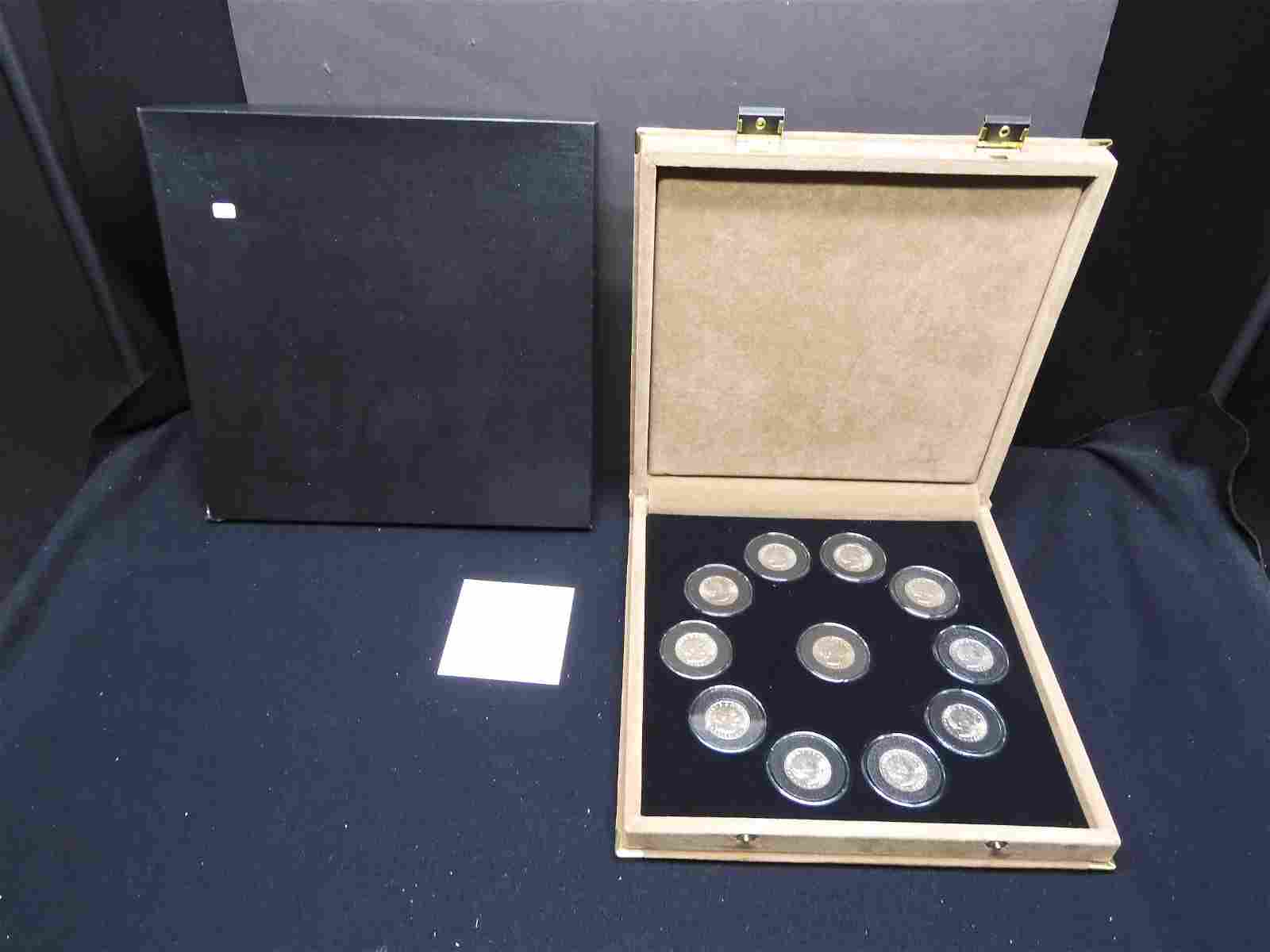 (11) Susan B. Anthony Dollars in coin set.  79,80, and
