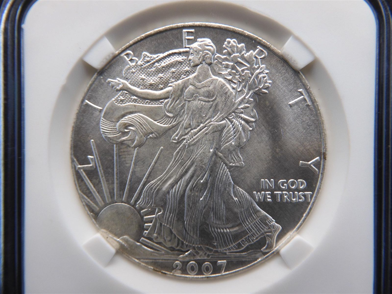 2007 American Silver Eagle .1 Troy oz .999 Fine Silver