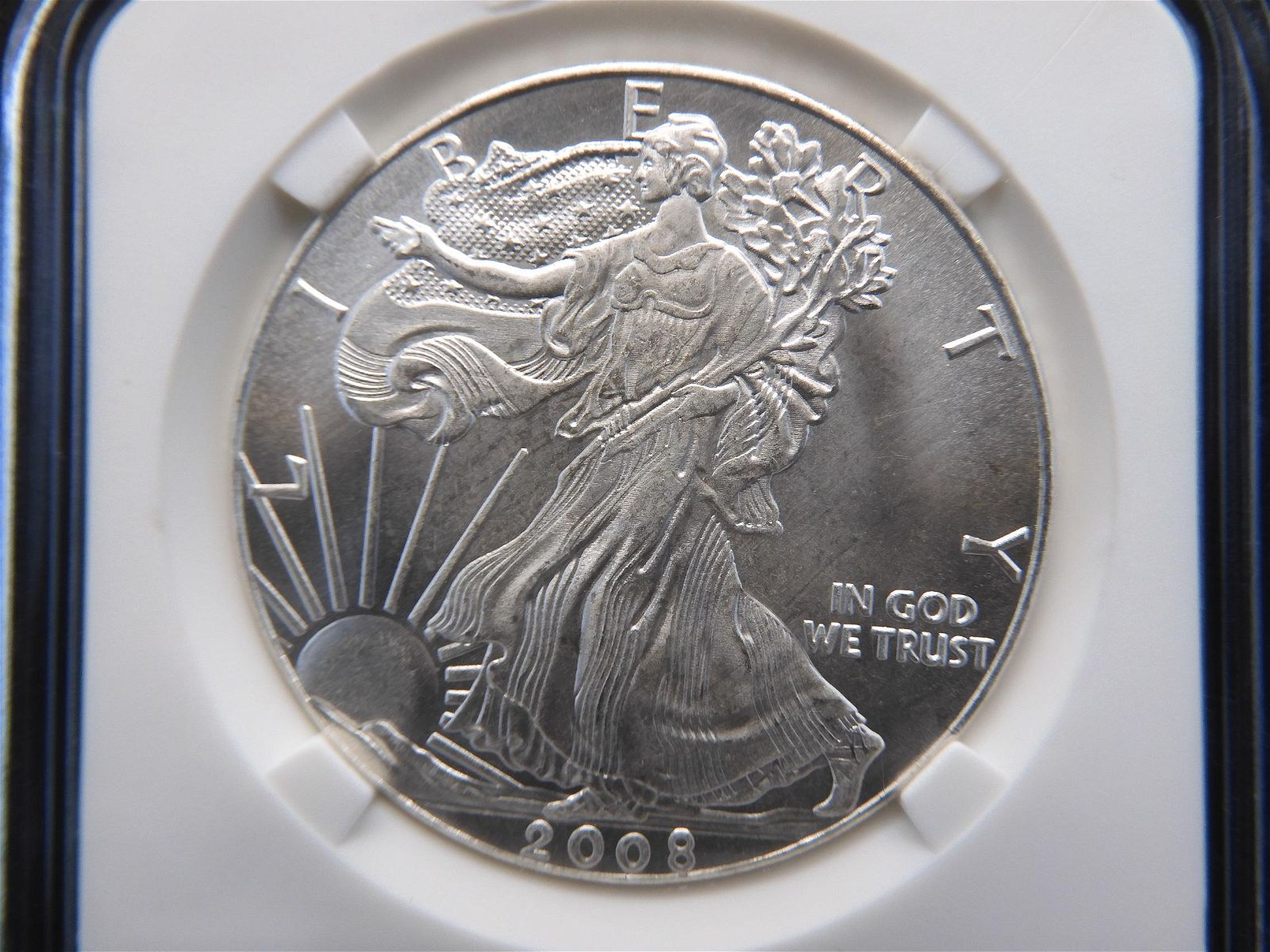 2008 American Silver Eagle .1 Troy oz .999 Fine Silver