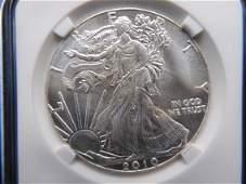 2010 American Silver Eagle .1 Troy oz .999 Fine Silver