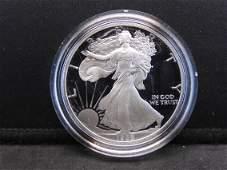 1998 S Proof American Silver Eagle 999 Fine Silver 1