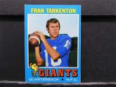 1971 Topps 120 Fran Tarkenton Football  Card