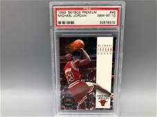 1993-94 Skybox Premium Michael Jordan #45 PSA GEM MINT