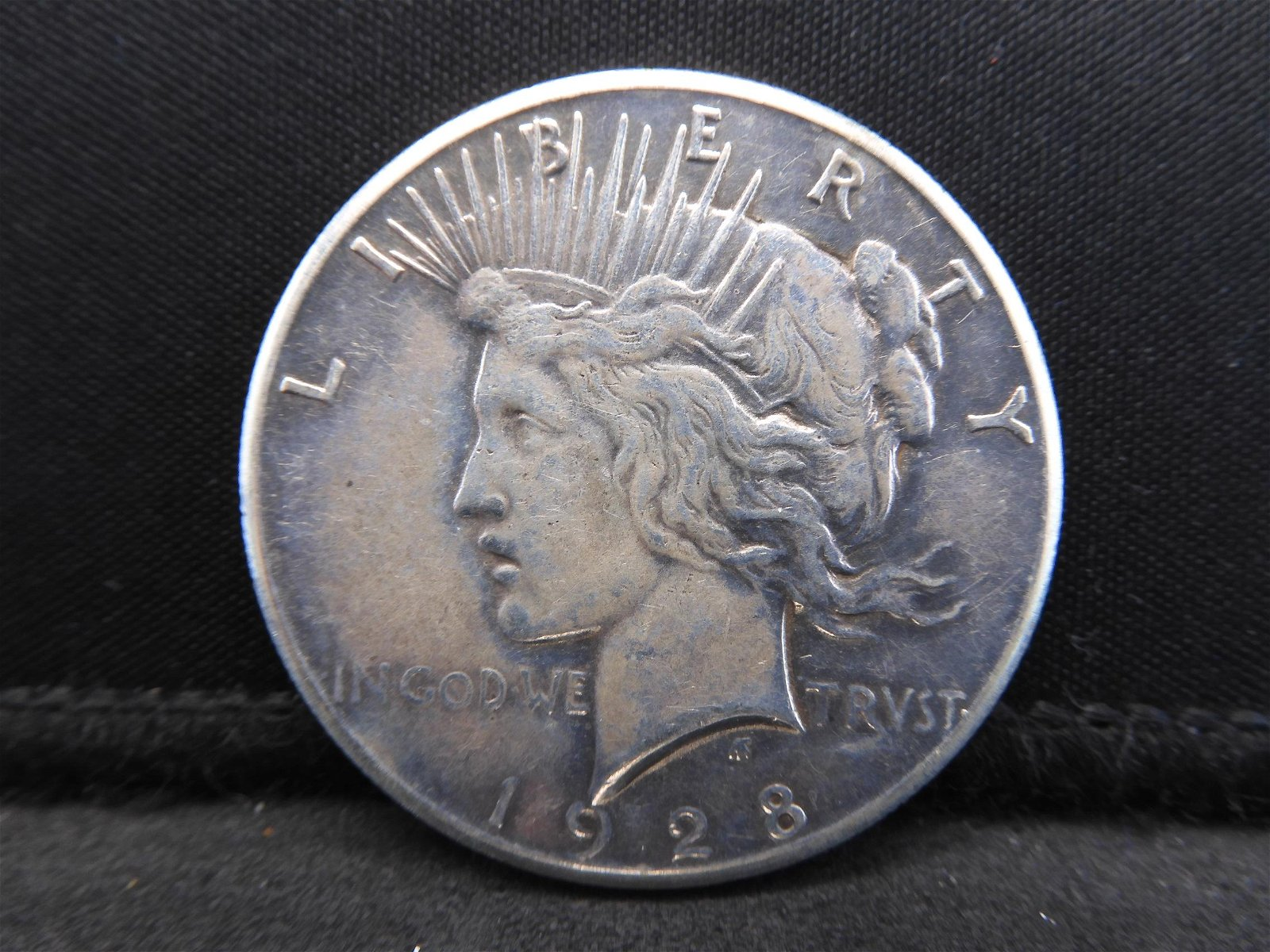 1928-P Peace Silver Dollar Key Date Only 330k Minted!