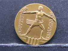 Century of Progress Exposition Official Medal
