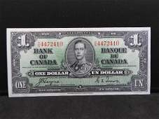 Excellent 1937 Canadian CoyneTowers Canadian 1 Bank