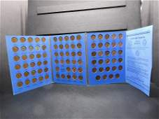 Whitman Lincoln Cent Folder w88 Coins Complete set