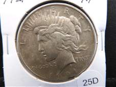 KEY DATE 1921 Silver Peace Dollar - High Relief