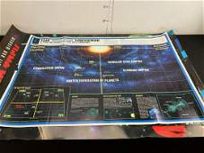 Star Trek Lot of 3 Posters  Space Map Next