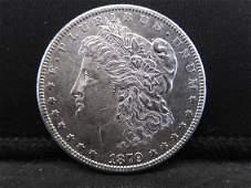 1879-S Reverse of 1878 Morgan Silver Dollar - BU