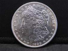 1899-S Morgan Silver Dollar BU Condition Key Date!