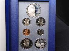 1993 U.S. Bill of Rights Prestige Proof 7 Coin Set OGP