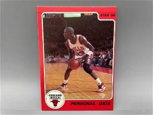 1986 Star Michael Jordan #9 Scarce