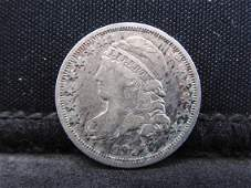 1837 Capped Bust Silver Dime - Fine Condition