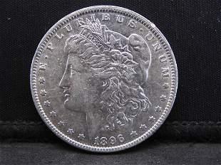 1896-O Morgan Silver Dollar - Scarce Date in High Grade