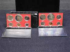 1973 And 1974 United States 6-Coin Proof Sets. Total