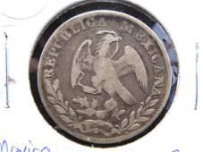 1843 2 REALES, MEXICO