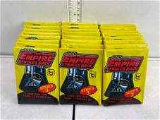 1980 Topps Star Wars: The Empire Strikes Back Lot of 24