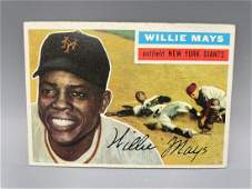 1956 Topps Willie Mays 130