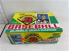 1989 Bowman Baseball Unopened Wax Box  Ken Griffey Jr