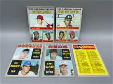 1970 Topps Baseball Lot of 5  League Leaders wRose