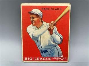 1933 Goudey Earl Clark #57