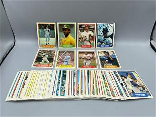 1982 Fleer Baseball Lot of 90 Different Cards with Cal