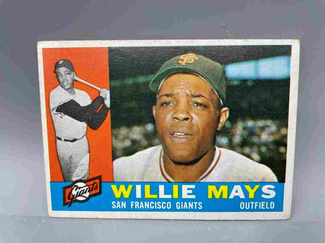 1960 Topps Willie Mays #200