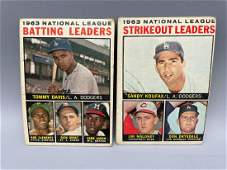 1964 Topps League Leaders 5  7  Roberto Clemente