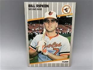 1989 Fleer Billy Ripken #616 - Black Box Version