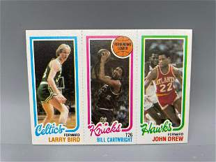 1980-81 Topps Larry Bird Rookie - #23, 164, 34 Version