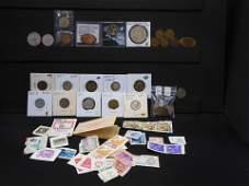 51U. Mixed Grab Bag of 25 stamps including unused